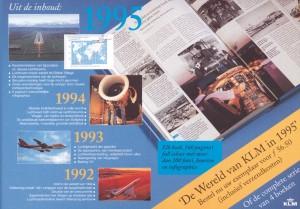 KLM brochure 1995